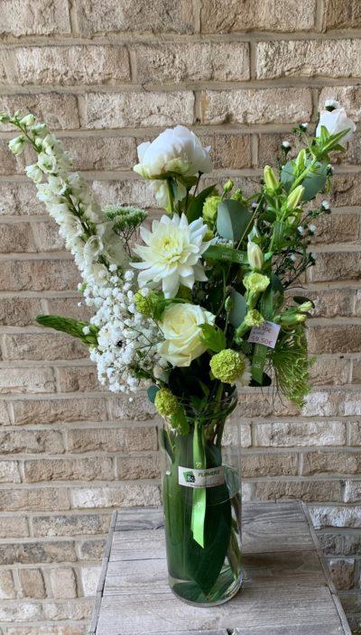 Bouquet Natural Elegant Vase